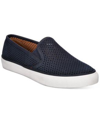 Seaside Perforated Slip-On Sneakers