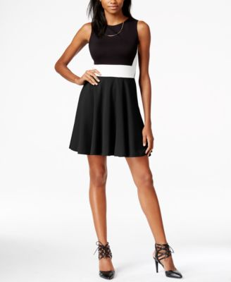 Bar III Striped Dress - Dresses - Women - Macy\'s