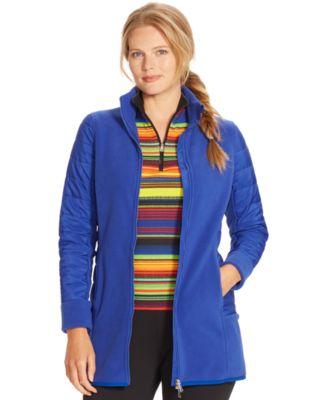 Lauren Ralph Lauren Plus Size Fleece Jacket - Jackets &amp Blazers