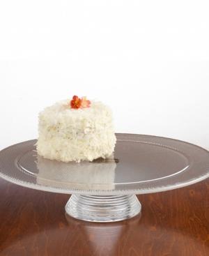 "Kosta Boda ""Limelight"" Cake Plate"