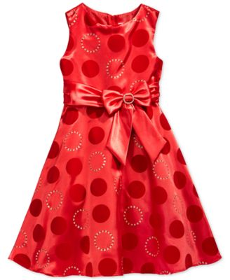 Rare Editions Girls' Lace Ruffle Dress - Kids & Baby - Macy's