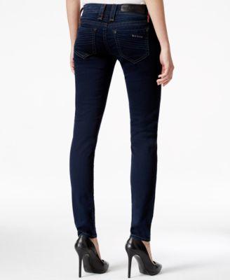 Rock Revival Four-Pocket Skinny Dark Blue Wash Jeans - Jeans ...