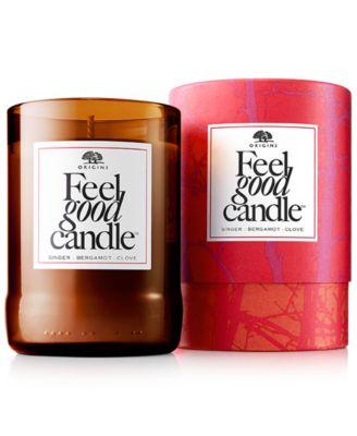 Origins Feel Good Candle - Ginger Bergamont and Lemon