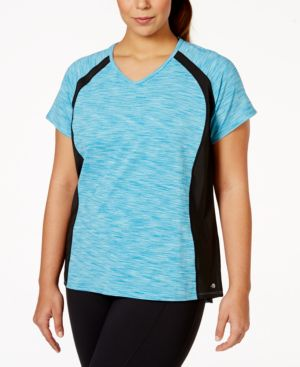 Ideology Plus Size V-Neck Active Tee