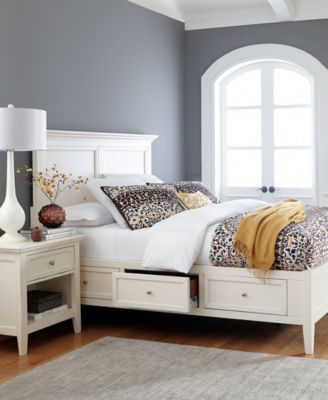 Sanibel Storage Bedroom Furniture Collection. Sanibel Nightstand   Furniture   Macy s