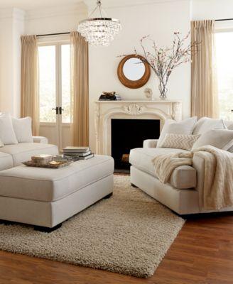 Ainsley Fabric Chair Furniture Macy S