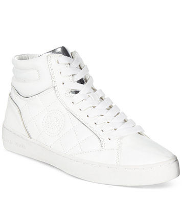 MICHAEL Michael Kors Paige Quilted High Top Sneakers - Sneakers ... : michael kors quilted sneakers - Adamdwight.com