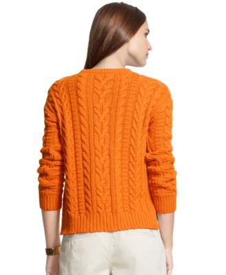 Lauren Ralph Lauren Plus Size Cable-Knit Sweater - Sweaters - Plus ...