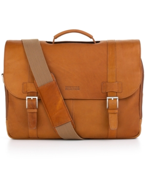 Kenneth Cole Reaction Leather Double Gusset Portfolio, Columbia Flapover Laptop Friendly Business Case