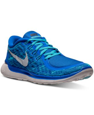 Nike Men's Free 5.0 Print Running Sneakers from Finish Line