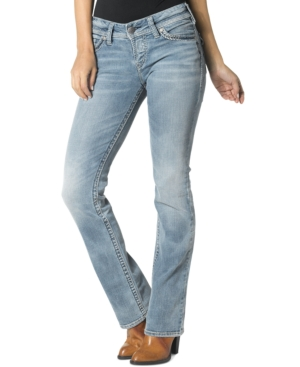 Silver Jeans Suki Bootcut Light Wash Jeans
