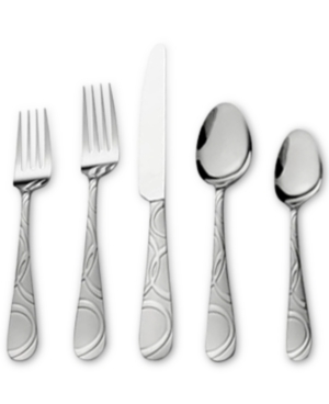 International Silver 67-Pc. Garland Frost Flatware & Hostess Set Service for 12