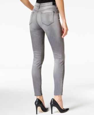 DKNY Jeans City Ultra-Skinny Gray Wash Jeans - Jeans - Women - Macy's