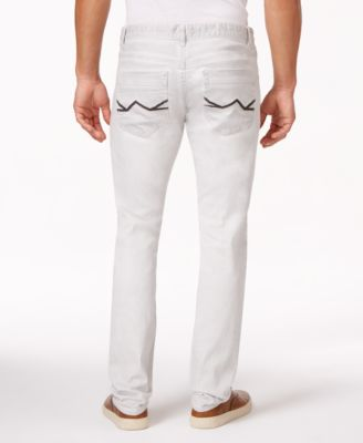 INC International Concepts Morgan White Wash Skinny Jeans, Only at ...