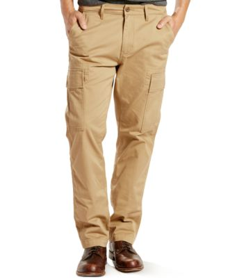 Levi's® 541 Athletic-Fit Harvest Gold Cargo Pants - Pants - Men ...