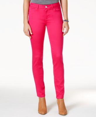 Celebrity Pink Jeans Juniors' Skinny Jeans, Colored Wash - Juniors ...