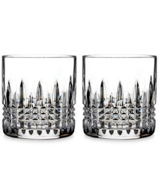 Waterford Crystal 2-Pc. Lismore Diamond Straight-Sided Tumbler Set
