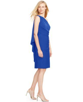 a5454c4a14 Turmec » lauren ralph lauren embellished one shoulder jersey dress
