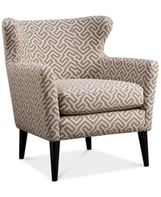 Jla Penelope Fabric Accent Chair Direct Ship Furniture