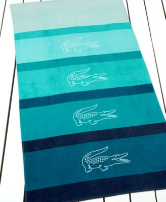 Lacoste Scuba Beach Towel