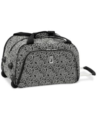 "London Fog Greenwich 19"" International Rolling Duffle, Only at Macy's"