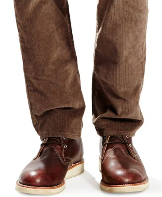 Levi's® 511 Slim-Fit Bittersweet Corduroy Pants - Pants - Men - Macy's
