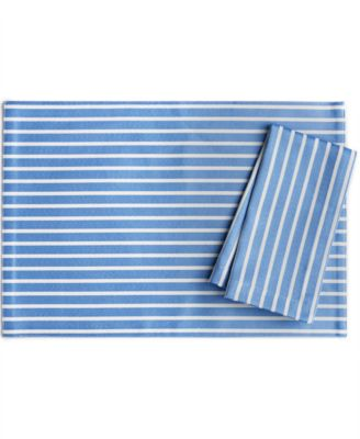 kate spade new york Harbour Drive Cornflower Table Linens Collection Placemat