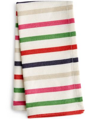 kate spade new york New Food For Thought Table Linens Collection Striped Napkin