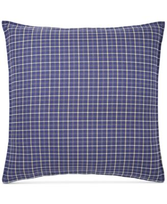 Tommy Hilfiger Vintage Plaid European Sham