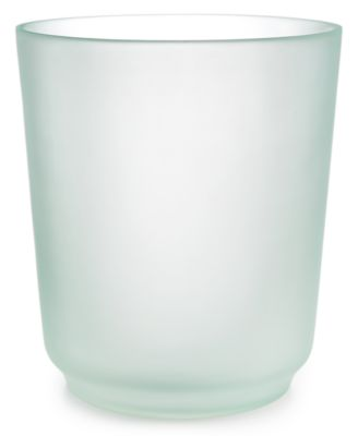 Martha Stewart Collection Sea Glass Frost Wastebasket, Only at Macy's