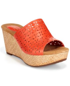 Clarks Artisan Women's Caslynn Dylan Wedge Sandals Women's Shoes