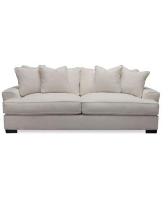 Sofas Macys Myia Leather Sofa Created For Macy S Furniture
