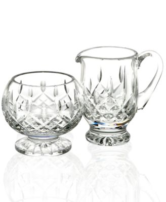 Waterford Serveware, Lismore Sugar & Creamer