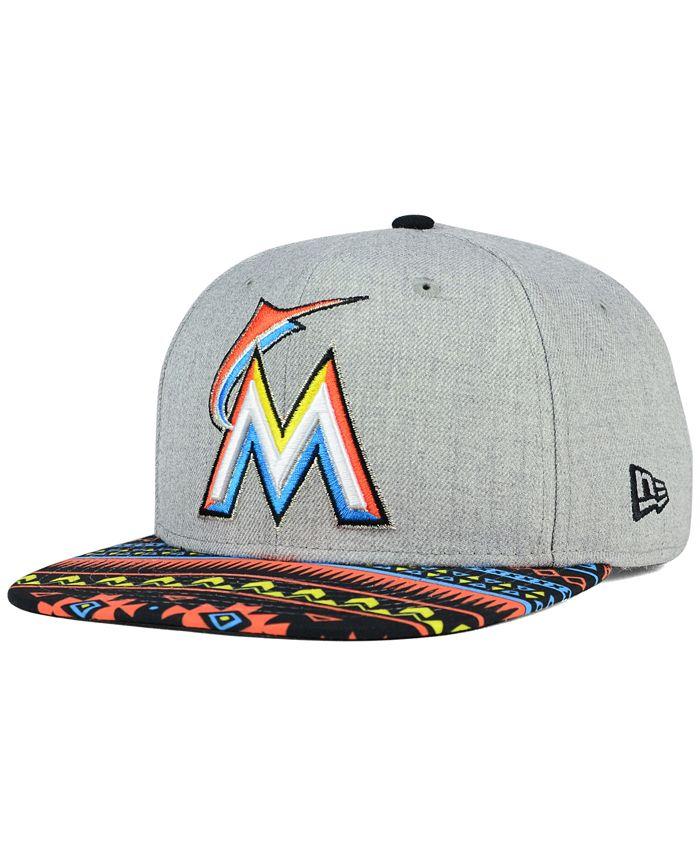 New Era - Miami Marlins Neon Mashup 9FIFTY Snapback Cap