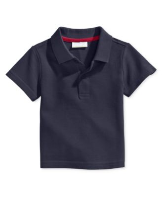 Image of First Impressions Baby Boy's Short-Sleeve Polo Shirt, Only at Macy's
