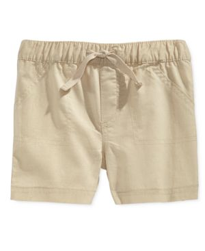 First Impressions Baby Boys' Woven Shorts, Only at Macy's