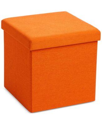 Poppin Storage Box Seat & Ottoman