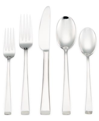 Hotel Collection 20-Pc. Flatware Set, Only at Macy's