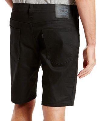 black levi shorts men