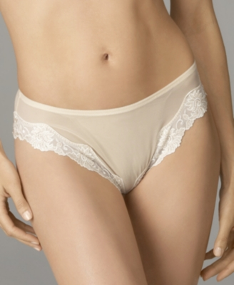 "Lunaire ""Sevilla"" Scroll Embroidered Tanga - Lunaire"