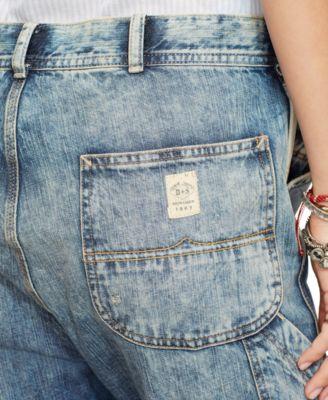 Denim &amp Supply Ralph Lauren Distressed Carpenter Jeans - Jeans