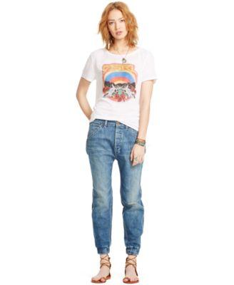 Denim &amp Supply Ralph Lauren Slouch-Fit Rayder-Wash Carpenter Jeans