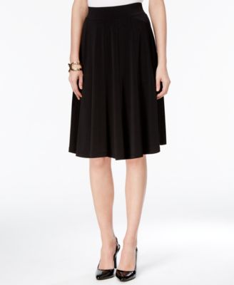 Charter Club A-Line Skirt, Border Print - Skirts - Women - Macy's