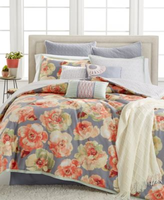 Kelly Ripa Home Magnolia 10-Pc Queen Comforter Set, Only at Macy's