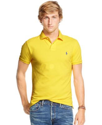 Polo Ralph Lauren Custom-Fit Mesh Polo