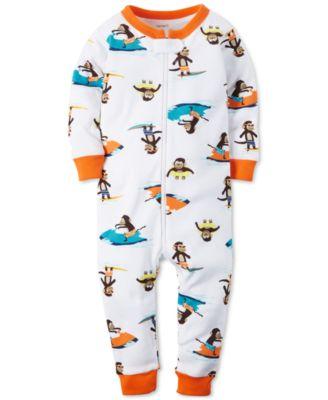 Carter's Toddler Boys' One-Piece Footed Space Pajamas - Pajamas ...