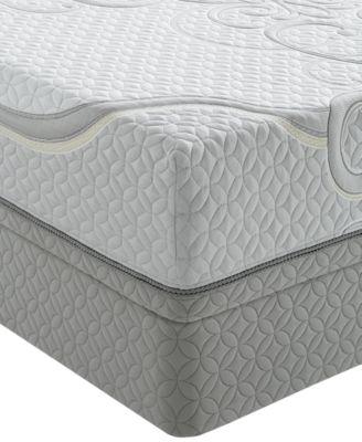 iseries gold by serta memory foam golden woods firm tight top queen mattress set - Serta Memory Foam Mattress