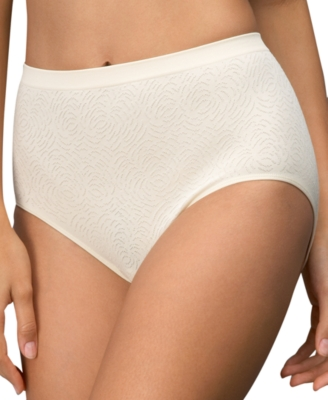Barely There Brief, Microfiber Damask
