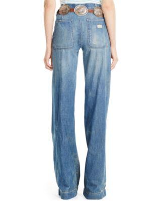 Polo Ralph Lauren Wide-Leg Jeans - Jeans - Women - Macy's