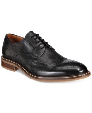 Alfani Men's Tyler Wing-Tip Derby Oxfords, Only at Macy's Men's Shoes